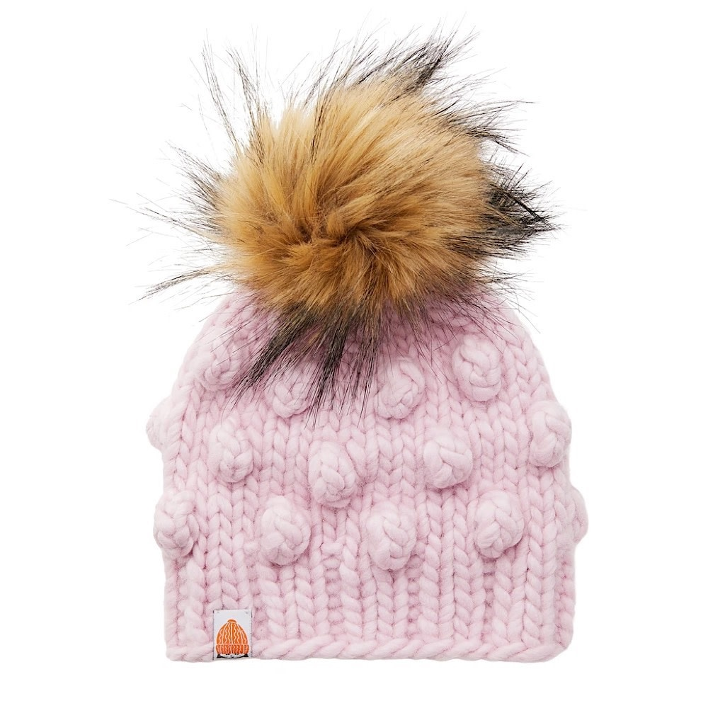 Sh*t That I Knit - Kids Campbell Beanie - Blush Pink