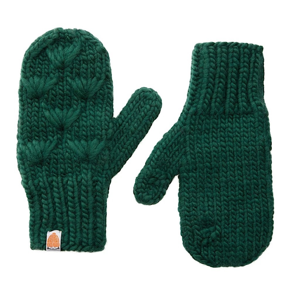 Sh*t That I Knit - Motley Mittens - Forest