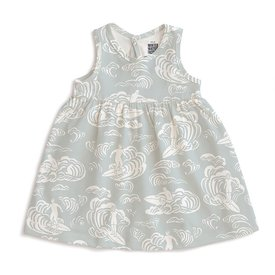 Winter Water Factory Winter Water Factory Oslo Baby Dress - Surfers Pale Blue