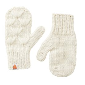 Sh*t That I Knit Sh*t That I Knit - Motley Mittens - White Lie