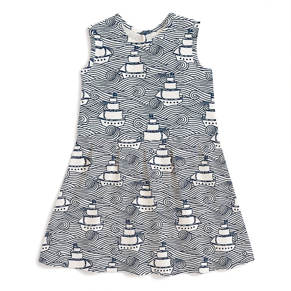Winter Water Factory Essex Dress - High Seas Navy