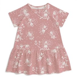 Winter Water Factory Winter Water Factory Milwaukee Dress - Fairies Dusty Pink