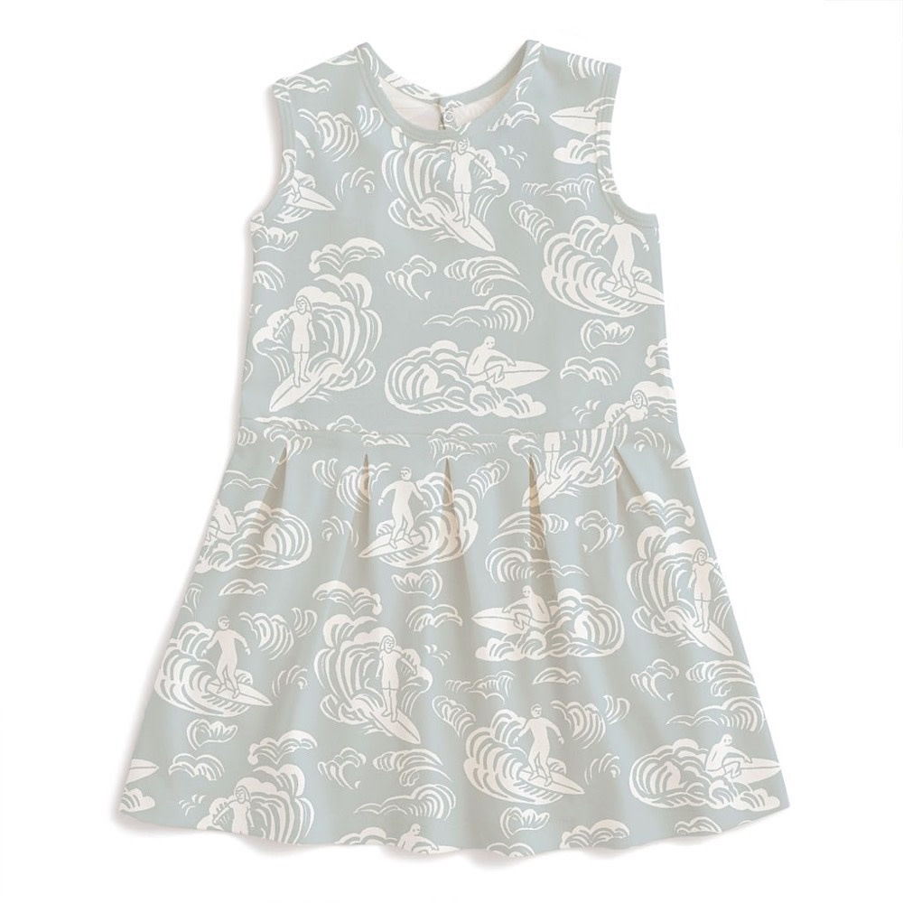 Winter Water Factory Essex Dress - Surfers Pale Blue