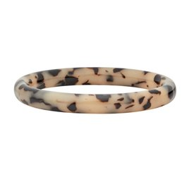 Machete Machete - Statement Bangle - Blonde Tortoise