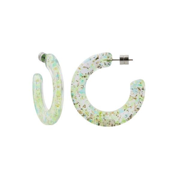 Machete Machete - Kate Hoop Earrings - Prism