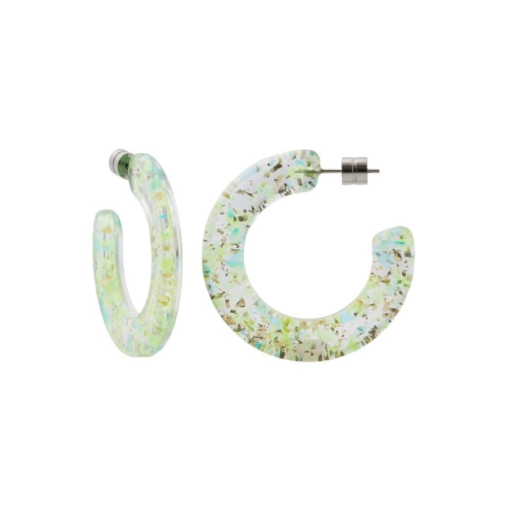 Machete - Kate Hoop Earrings - Prism
