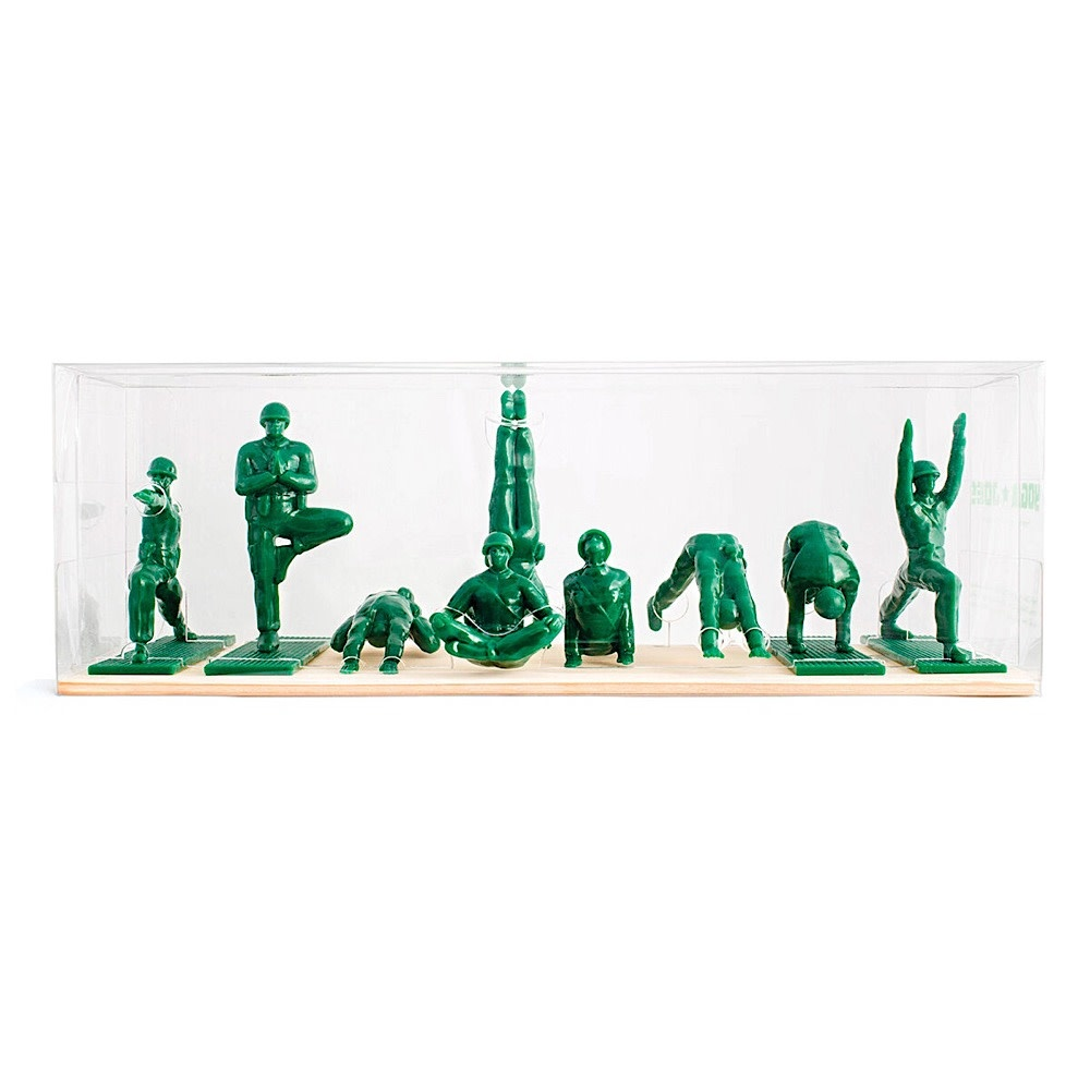 Yoga Joes Yoga Joes - Green Set