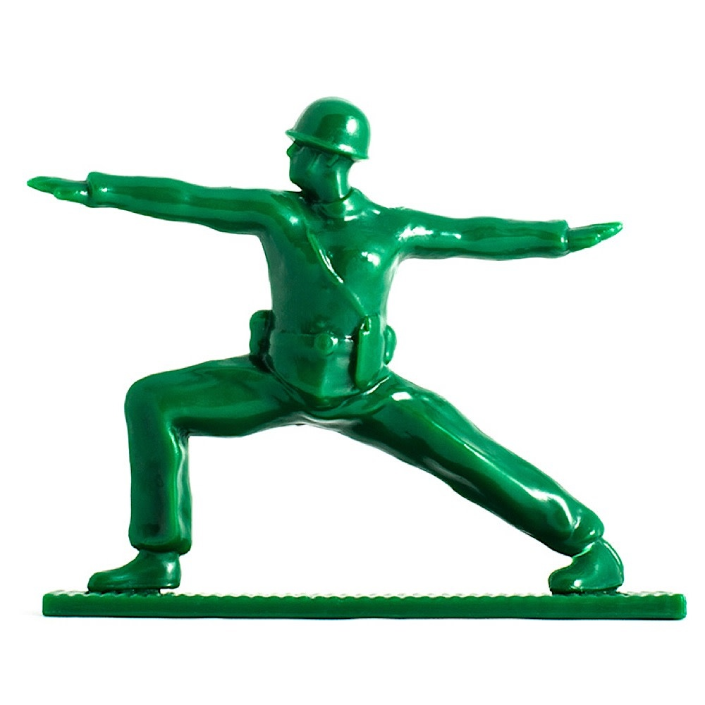 Yoga Joes - Green Set