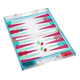 Sunnylife Sunnylife Backgammon Lucite - Super Fly