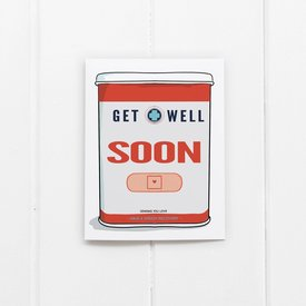 Ramus & Co Ramus & Co Card - Get Well Soon Bandaids