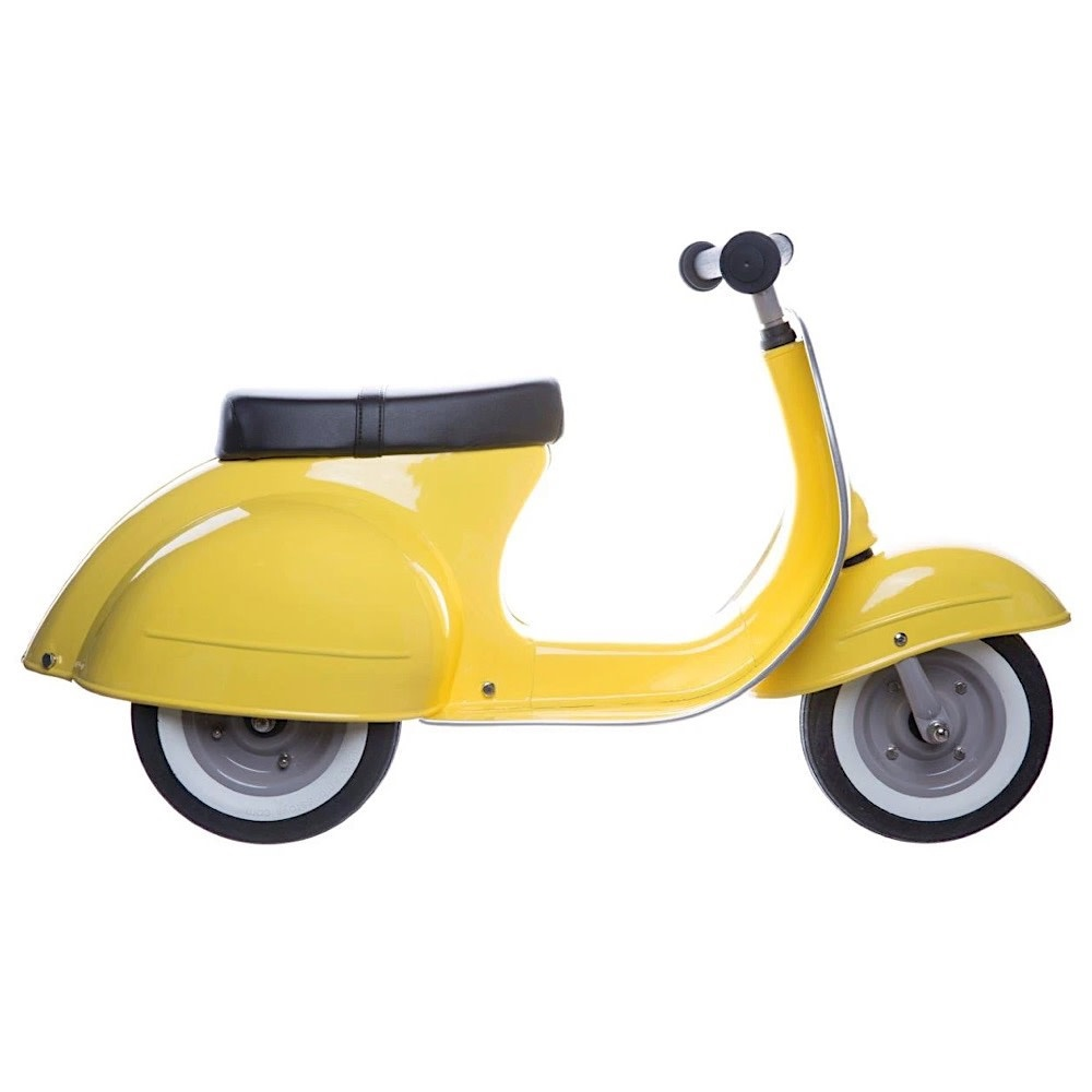 Primo Ride On Push Scooter - Yellow