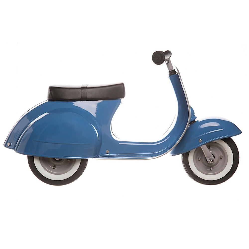 Primo Ride On Push Scooter - Blue