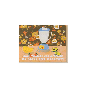 Small Adventure Small Adventure - Mom Healthy Smoothie Card