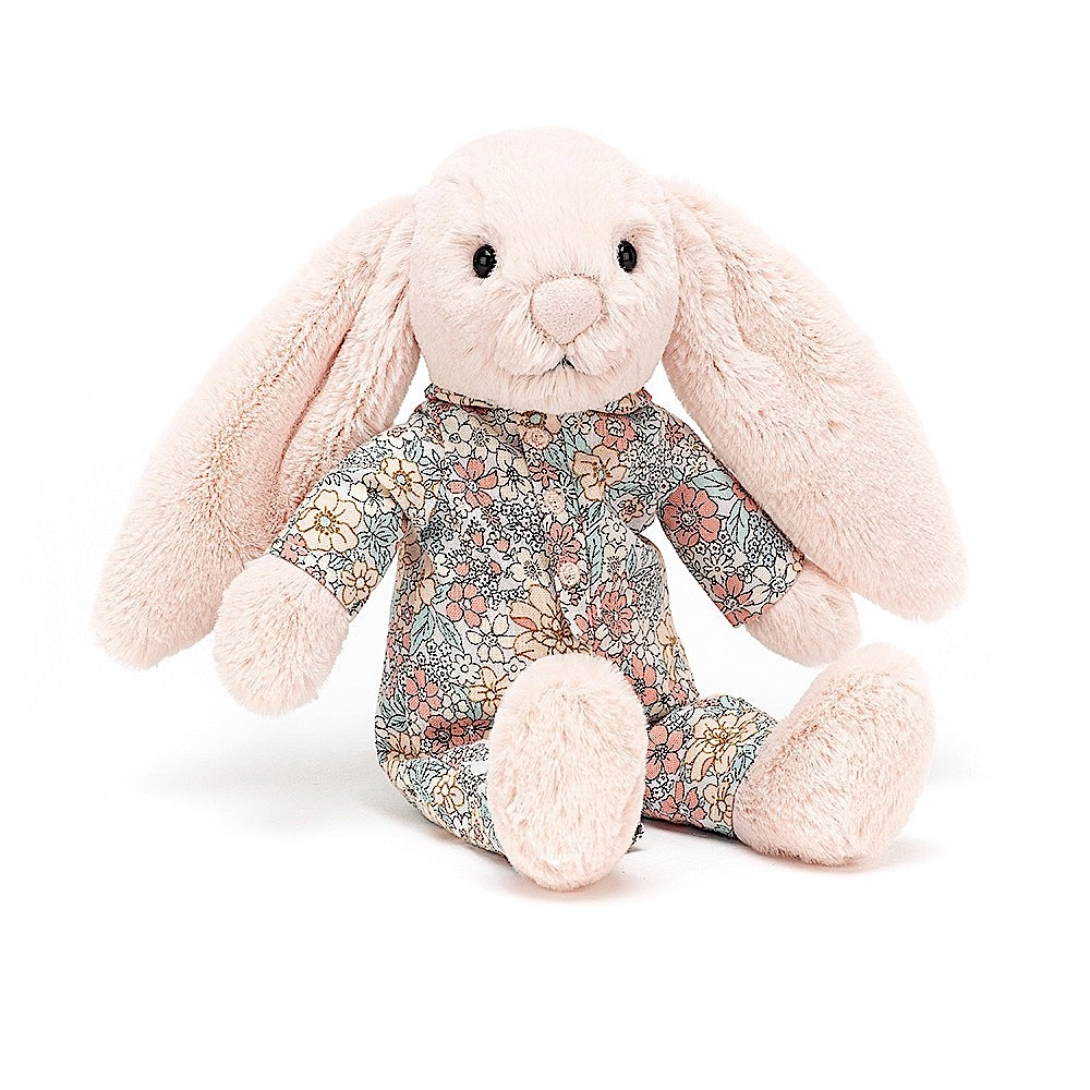 Jellycat Bedtime Blossom Bunny - Small - 7 Inches