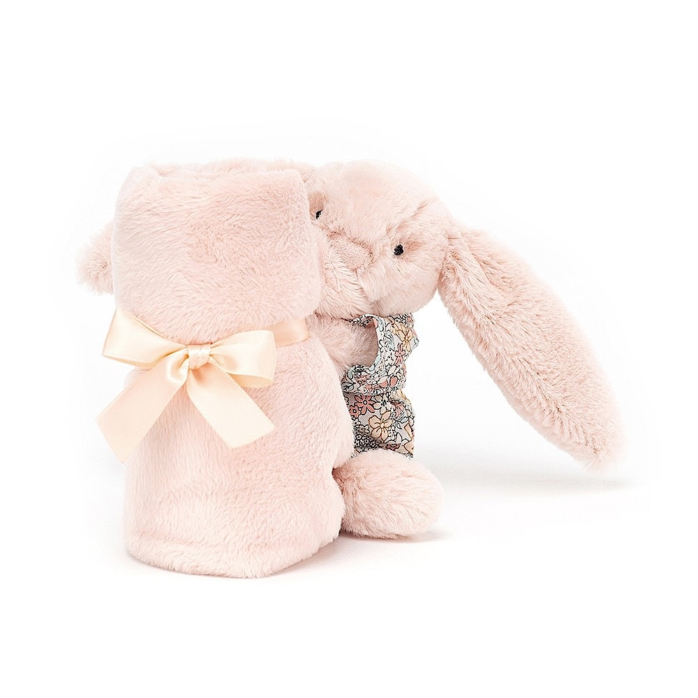 Jellycat Bedtime Blossom Bunny Soother - Blush - 13 Inches