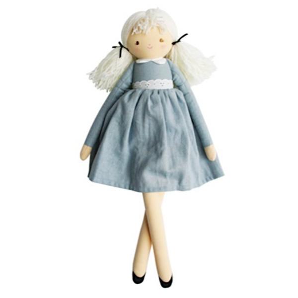 Alimrose Alimrose Pippa Doll - Grey Linen