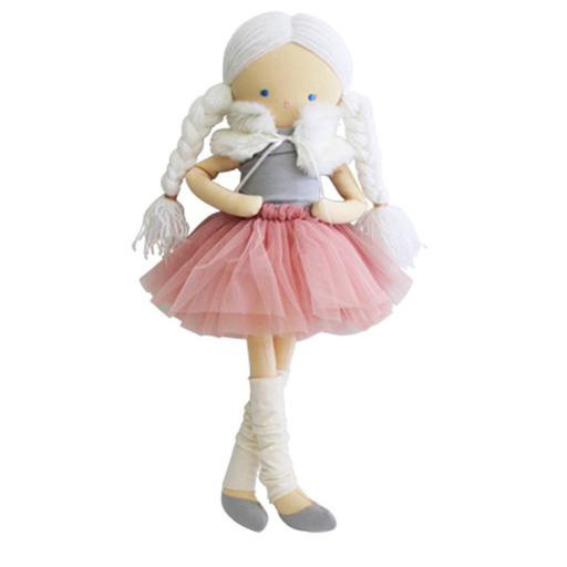 Alimrose Tillie Dress Me Ballerina Doll - Blush