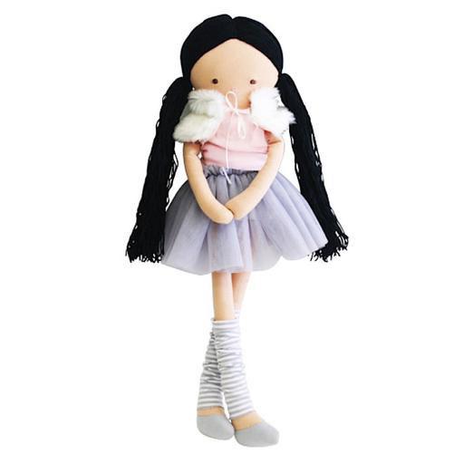 Alimrose Alimrose Tillie Dress Me Ballerina Doll - Mist