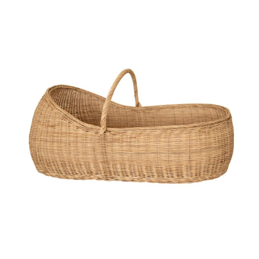Olli Ella Lyra Basket + Cotton Mattress