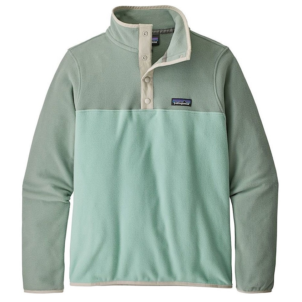 Patagonia Womens Micro D Snap-T Jacket - Gypsum Green