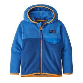 Patagonia Patagonia Baby Micro D Snap-T Jacket - Superior Blue Bayou Blue
