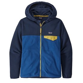 Patagonia Patagonia Boys Micro D Snap-T Jacket - Superior Blue