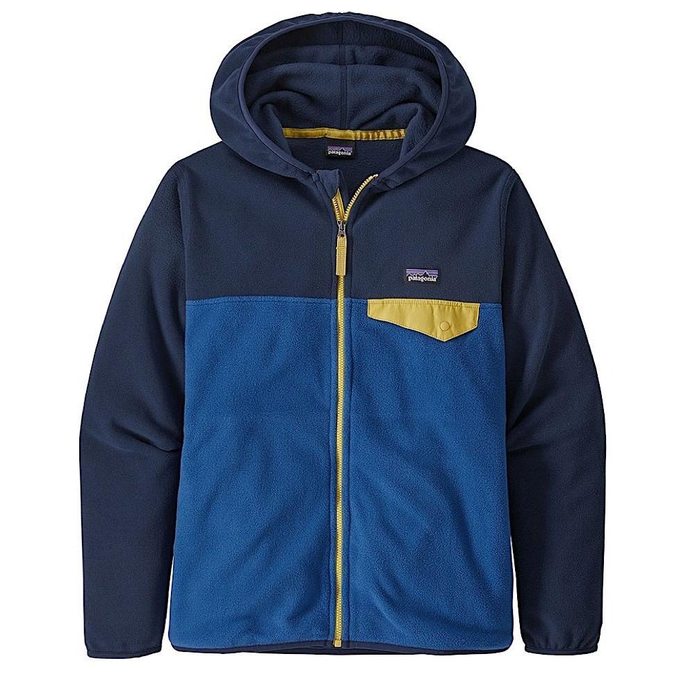 Patagonia Boys Micro D Snap-T Jacket - Superior Blue
