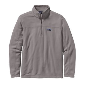 Patagonia Patagonia Mens Micro D Snap-T Pullover - Feather Grey