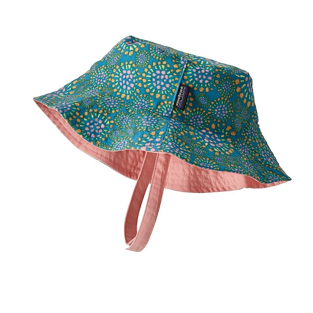 Patagonia Sun Baby Bucket Hat - Tropical Bloom Joya Blue