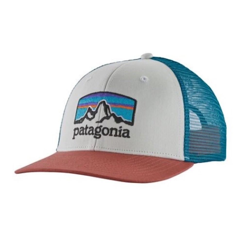 Patagonia Trucker Hat - Fitz Roy Horizons - White