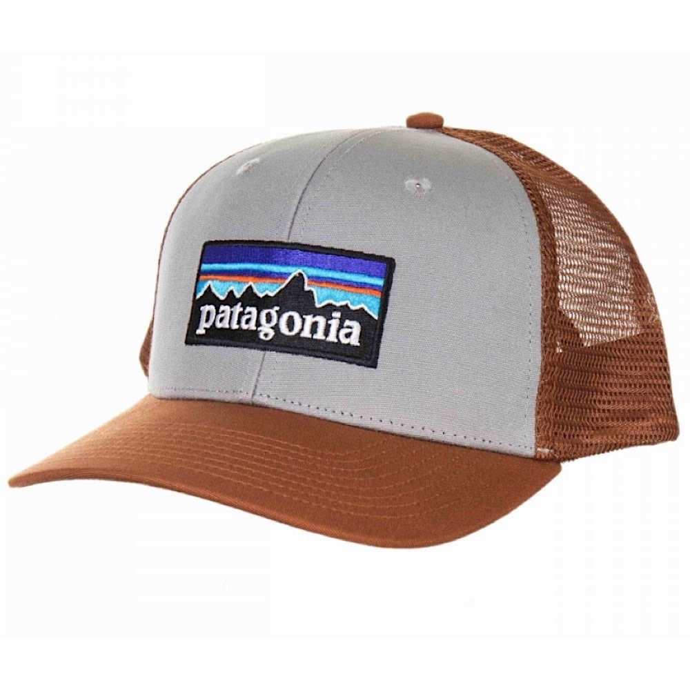 Patagonia Trucker Hat - P6 Logo - Drifter Grey