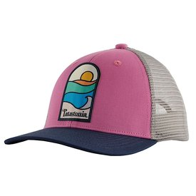 Patagonia Patagonia Trucker Hat Kids - Sunset Sets - Marble Pink