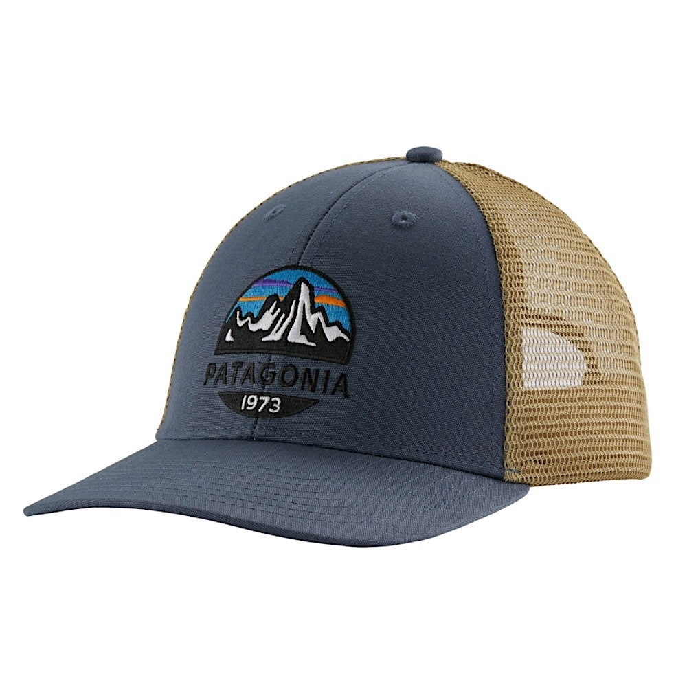 Patagonia Trucker Hat LoPro - Fitz Roy Scope - Dolomite Blue