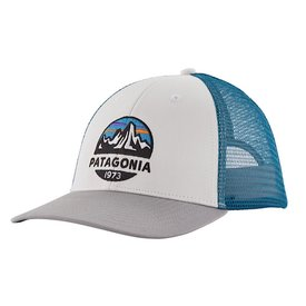 Patagonia Patagonia Trucker Hat LoPro - Fitz Roy Scope - White