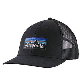Patagonia Patagonia Trucker Hat LoPro - P6 Logo - Black