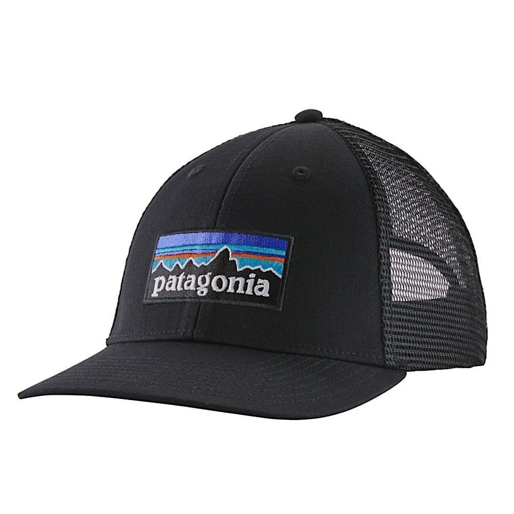 Patagonia Trucker Hat LoPro - P6 Logo - Black
