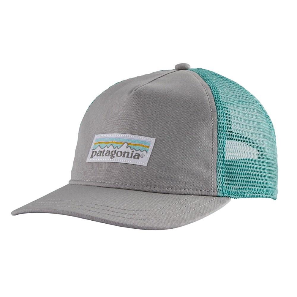Patagonia Trucker Hat Womens Layback - Pastel P6 Label - Drifter Grey