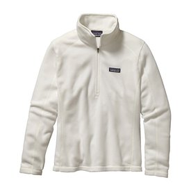 Patagonia Patagonia Womens Micro D 1/4 Zip Pullover - Birch White