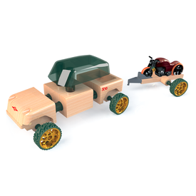 Kid O Products Automoblox Mini X10 Timber Pack