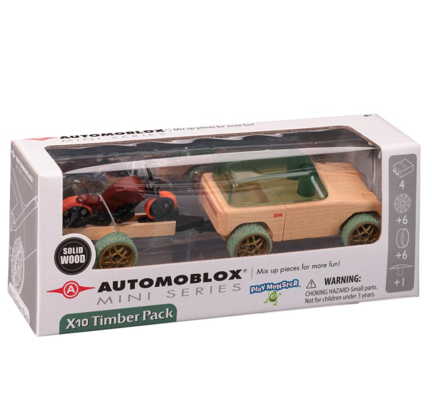 Automoblox Mini X10 Timber Pack