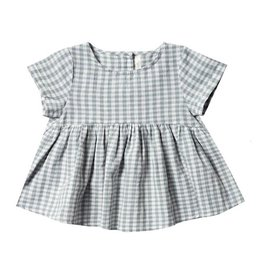 Rylee + Cru Rylee + Cru Jane Blouse - Gingham - Sea