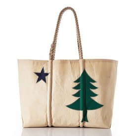Sea Bags Sea Bags Maine Bicentennial Tote - Large