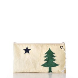 Sea Bags Sea Bags Maine Bicentennial Large Wristlet