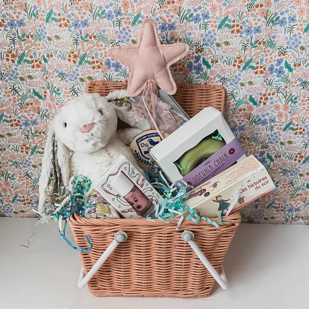Heirloom Easter Basket - Pink