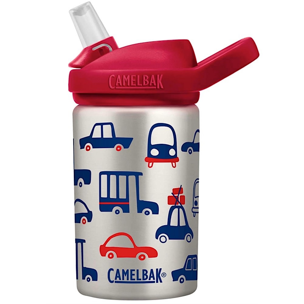 CamelBak Eddy Kids Single Wall Stainless .4L - Cars & Trucks