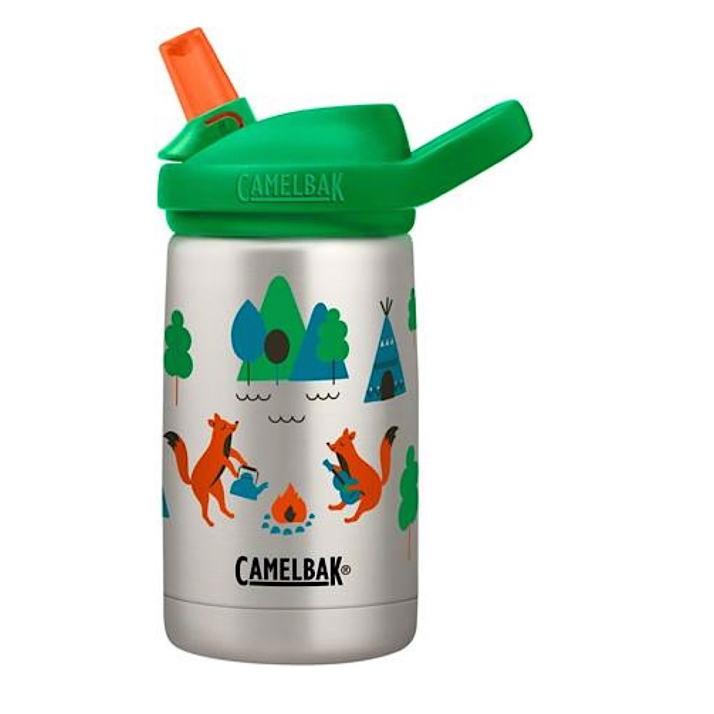 CamelBak Eddy Kids Vacuum Insulated Stainless .35L - Camping Foxes