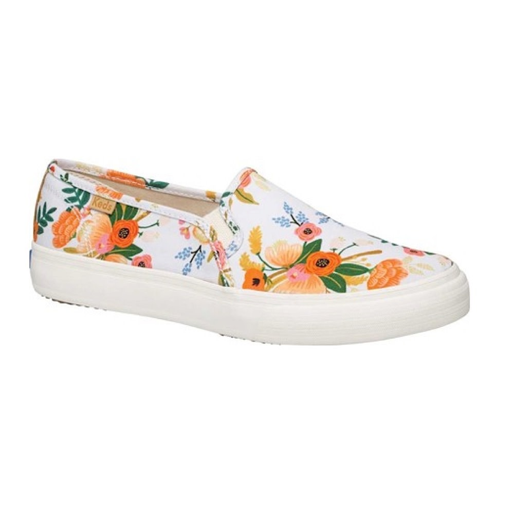 KEDS Adult + Rifle Paper Co. - Double Decker / Lively Floral