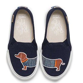 KEDS KEDS Little Kid + Rifle Paper Co. - Double Decker - Dachshund