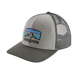 Patagonia Patagonia Trucker Hat - Fitz Roy Horizons - Drifter Grey