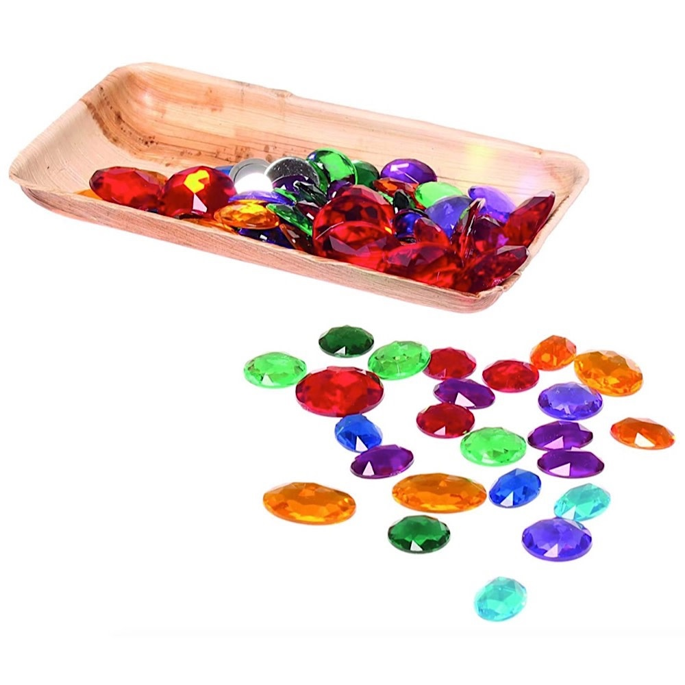 Grimms Acrylic Glitter Stones